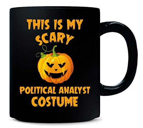 This Is My Scary Political Analyst Costume Halloween Gift - Mug