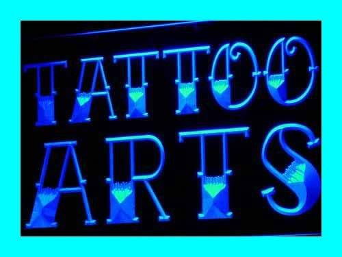 ADV PRO i622-b Tattoo Arts Shop Logo Design NEW Neon Light ...