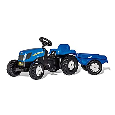Rolly Toys New Holland Kid-X Tractor, Blue: Toys & Games