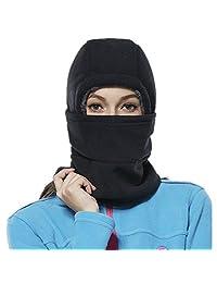 Adjustable Fleece Balaclava Hat Winter Windproof Ski Face Mask for Men/Women/Kids