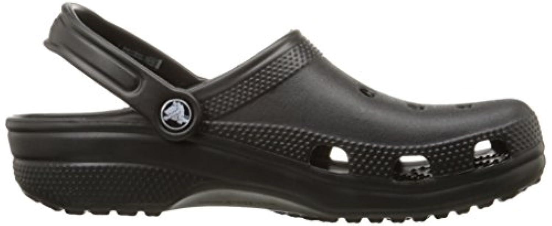 Crocs Unisex Adult Classic Clogs - Black (Black), 12 UK (48-49 EU) (M13 US)