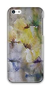 Online Designs Dandelion yellow painting PC Hard new case for iphone 5c for men