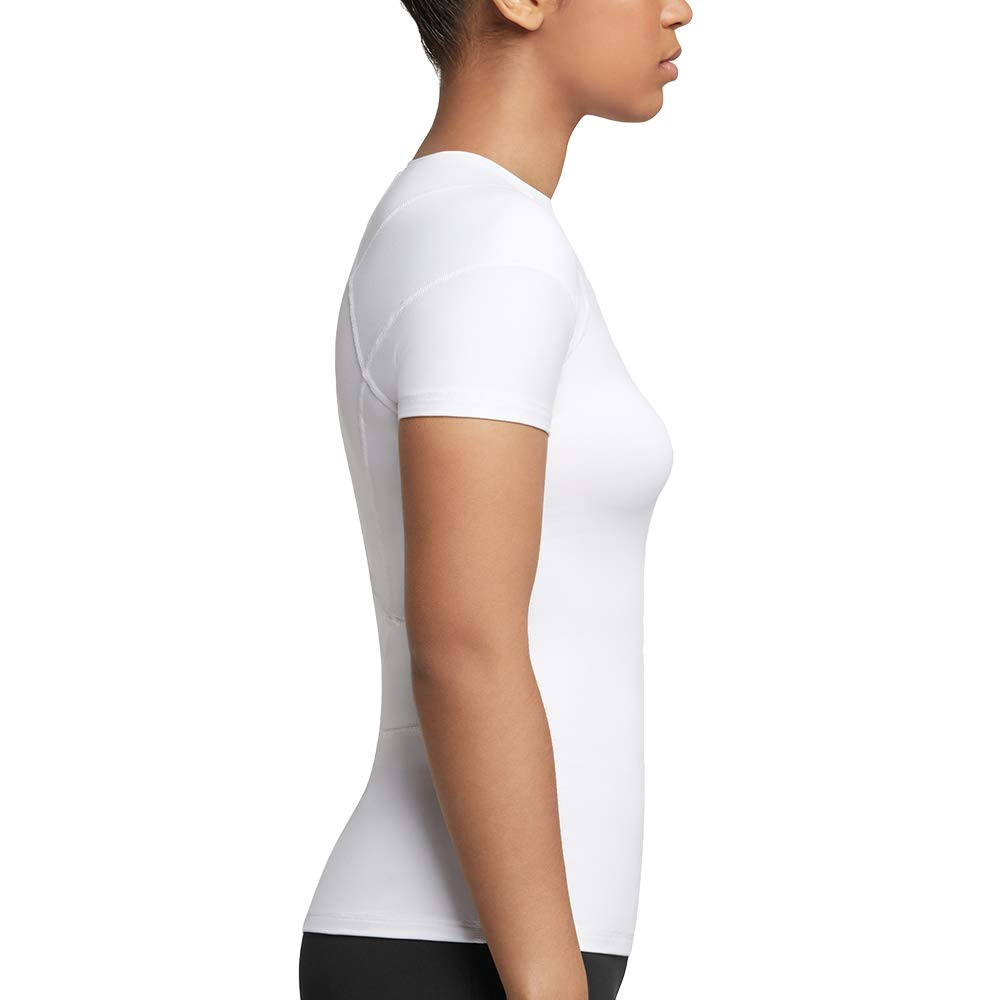 Tommie Copper Women's Pro-Grade Shoulder Centric Support Shirt, White, Small by Tommie Copper (Image #4)