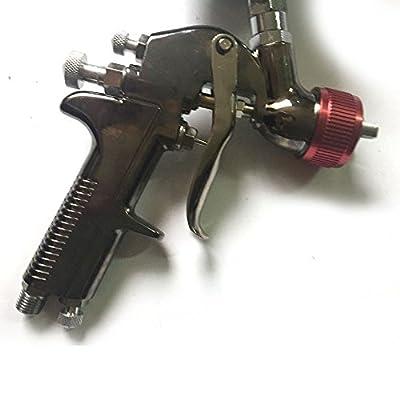2.0mm HVLP Gravity Feed Air Spray Gun Kit Auto Car Detail Touch Up Paint Sprayer Spot Repair