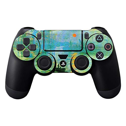 MightySkins Skin Compatible with Sony PS4 Controller - Impression Sunrise | Protective, Durable, and Unique Vinyl Decal wrap Cover | Easy to Apply, Remove, and Change Styles | Made in The USA