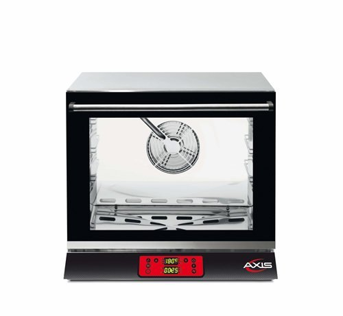 Axis AX-513RHD Electric Conv Oven - 1/2 Pan - Three shelves