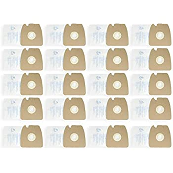 60297 60296 Yours 20Pcs Replacement for Eureka 3670 /& 3680 MM Vacuum Bags,and Replacement Vacuum Bags Part # 60295