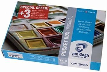 Van Gogh – Caja de acuarela de bolsillo Van Gogh: Amazon.es: Hogar
