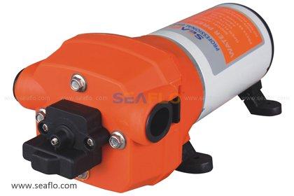 Seaflo 12V WATER PRESSURE DIAPHRAGM PUMP 4.5GPM 17 L/MIN 40 PSI -