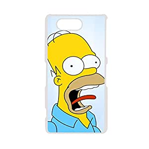 High Quality Phone Case For Girly Printing Simpson For Z3 Mini Sony Choose Design 5