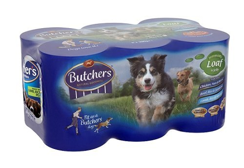 Butchers Natural Nutrition Wet Dog Food With Loaf In Jelly 2340 G