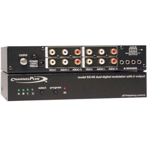 Channel Plus 5545 Quad Channel A/V Modulator with I/R Output (Channel Plus -
