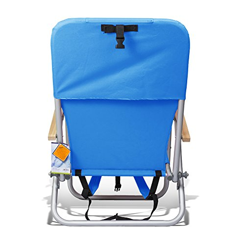 Assorted Colors JGR Copa copa Beach /& Camping Outdoor Chair Backpack 4 Position Ultra-Resistant Steel by