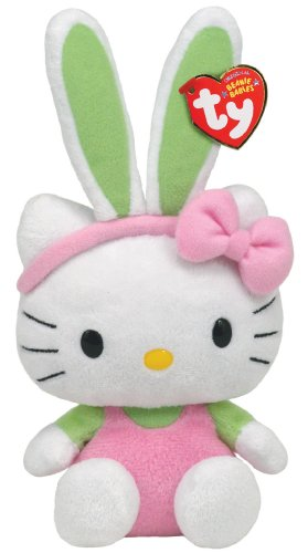 Ty Hello Kitty Pink Jumper Beanie Baby