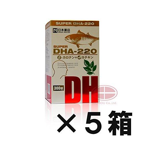 【メーカー再生品】 薬王製薬 5 スーパーDHA220 βカロテン+カテキン B07BZDRMM2 (5) 300粒 (5) 5 B07BZDRMM2, 肌かくしーと:c9c46563 --- irlandskayaliteratura.org