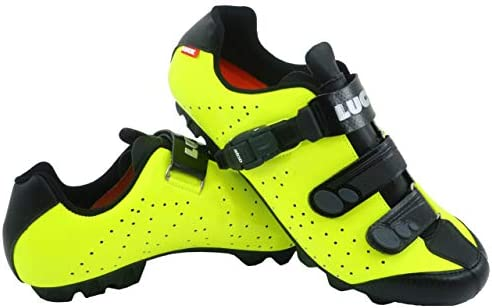 LUCK Zapatillas de Ciclismo MTB ODÍN con Suela de Carbono y Cierre ...