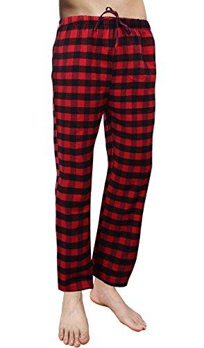 plaid pajama pants - 5