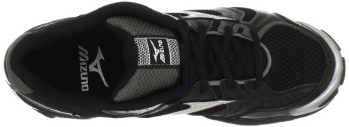 Mizuno Womens Wave Bolt 2 Volleyball Shoe Black/Silver 4AZx4i