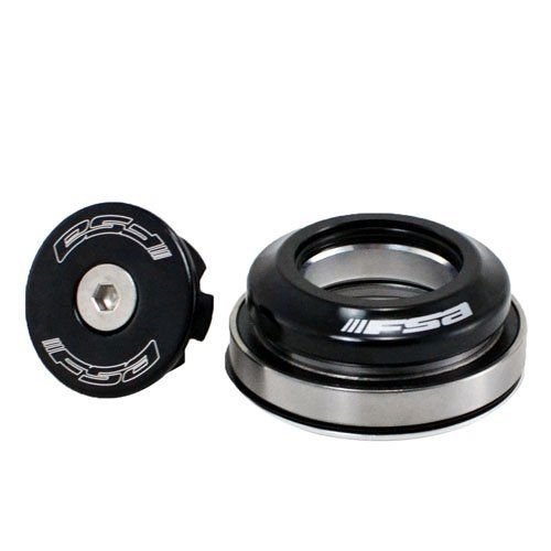 "FSA Orbit C-40 Integrated 1-1/8"" - 1.5"" ID 42/52 mm Tapered Headset, Black #XTE1511"