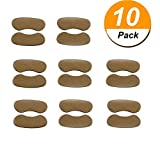 10Pairs Heel Cushion Pads Self Adhesive Shoe Insoles Heel Shoe Grips Liner Foot Care Protector