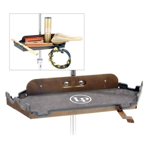 (Latin Percussion LP761 Percussion Table Lined with Molded Rubber/Grooves)