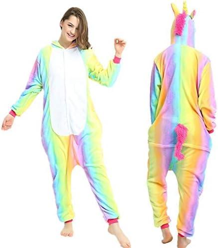 Kigurumi Pijama de la Mujer Pijamas Unicornio Animado Panda ...