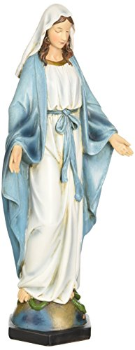 Renaissance Collection Joseph's Studio by Roman Exclusive Our Lady of Grace Figurine, 10.25-Inch (Statue Conception Immaculate)