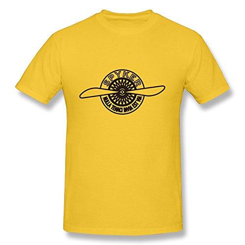 van-mens-luxury-f1-super-sports-car-spyker-c8-brand-logo-t-shirts-l-yellow