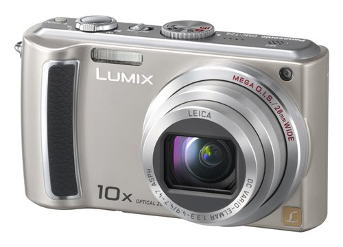 (Panasonic Lumix DMC-TZ4S 8.1MP Digital Camera with 10x Wide Angle MEGA Optical Image Stabilized Zoom (Silver))