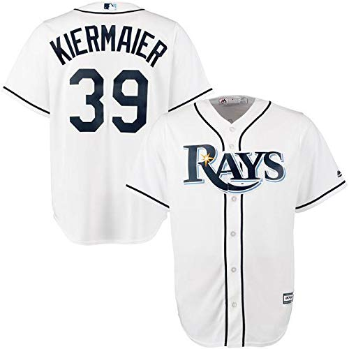 Majestic Majestic Kevin Kiermaier Tampa Bay Kiermaier Rays スポーツ用品 White Jersey Official Cool Base Player Jersey スポーツ用品【並行輸入品】 XL B07GL4S81X, 九州焼酎CLUB&スナップビー:18c74b52 --- cgt-tbc.fr