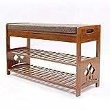 Shoe Rack Storage Shelves Holder Change Shoe Bench Shoe Cabinet Solid Wood Bed end Stool seat Bench Sofa Stool Door Shoe Bench Storage Shoe Rack