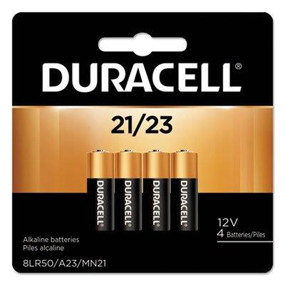 Duracell Coppertop Alkaline 21/23 batteries-4 ct