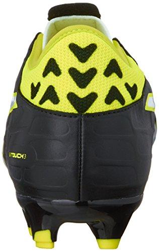 PUMA Mens Evotouch 3 FG Black-White-Safety Yellow Black-white-safety Yellow 3TvSQ