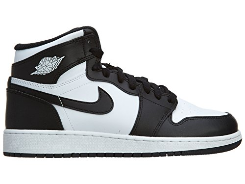 Nike Air Jordan 1 Retro High Og Bg, Zapatillas De Baloncesto para Niños Negro / Blanco (Black / White-Black)