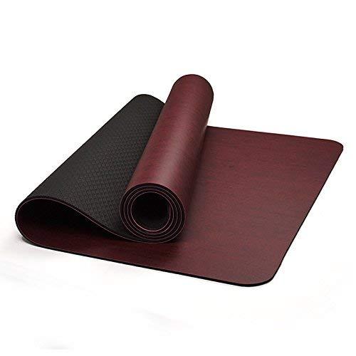 MEIDI Home 6mm Anti-Rutsch-Yoga-Matte Umweltfreundliche und geruchlose Fitness-Matte