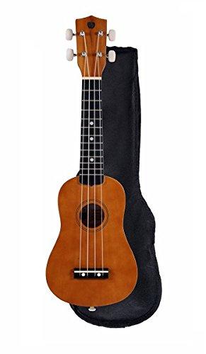 Wooden Soprano Ukulele (21 x 6.5 inches; Age 12+)