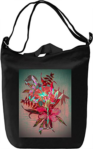 Colourful Flamingo Borsa Giornaliera Canvas Canvas Day Bag| 100% Premium Cotton Canvas| DTG Printing|