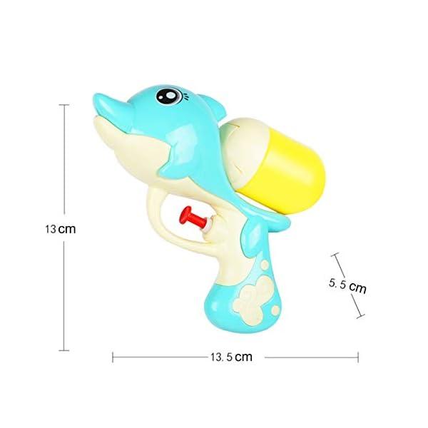 Jiobapiongxin Cartone Animato per Bambini Pistola ad Acqua a Pressione Summer Beach Pistola ad Acqua per Delfini Gioca a… 2 spesavip