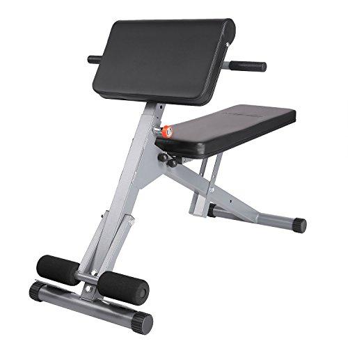Hyper Back Extension Bench,AdjustableFitness Multi Workout Abdominal/Hyper Back Extension BenchCore Strength Bench(US Stock)