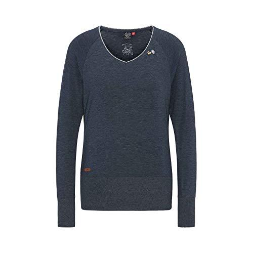 Ragwear Sweater Damen Bernice 1921-25001 Dunkelblau Navy 2028