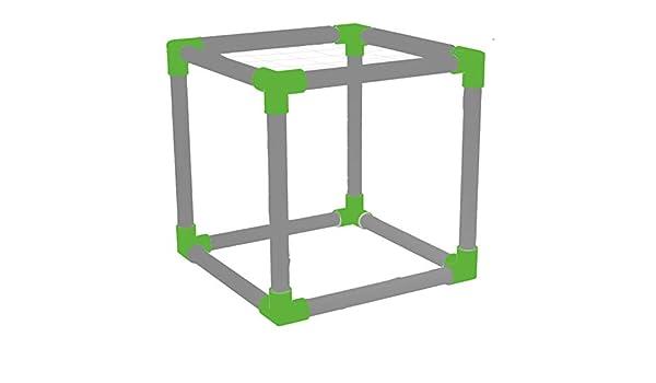 SCROG Trellis - Cubo de PVC: Amazon.es: Jardín