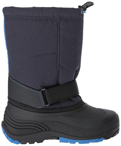 Kamik Boys Rocket Snow Boot, Navy/Navy, 3 Medium US Little Kid
