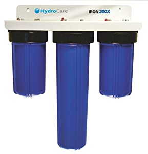 hydrocare hc 300x iron well water filtration diy tools. Black Bedroom Furniture Sets. Home Design Ideas