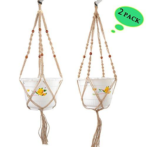 upmagic-macrame-plant-hangers-indoor-outdoor-hanging-planter-basket-four-hemp-rope-4-legs-40-inches-