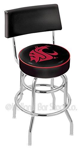 Holland Bar Stool L7C4 Washington State University Swivel Counter Stool, 25
