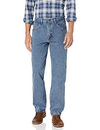 Wrangler Men's Rugged Wear Jean, Grey Indigo, 28x32