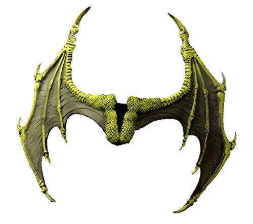Forum Novelties Men's Medieval Fantasty-Dragon Wings, Light Green, Standard