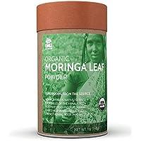 OMG! Superfoods Organic Moringa Powder - 100% Pure, USDA Certified Organic Moringa Leaf Powder - 7oz