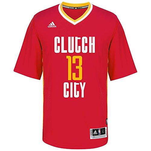 Nba Home Replica Jersey (NBA Men's Houston Rockets James Harden Replica Player Home Jersey, Medium, Red)