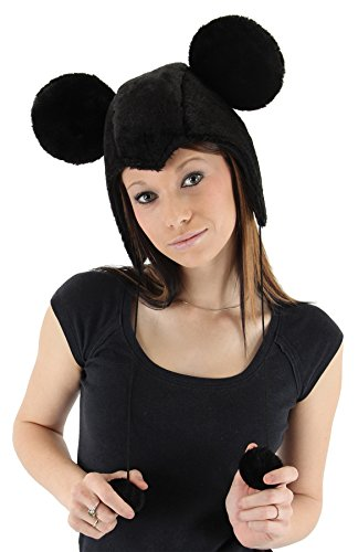 UHC Women's Disney Mickey Mouse Hoodie Hat Halloween - Mickey Mouse Hoodie Hat